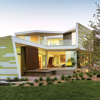 The west s most innovative homes for Innovative home plans